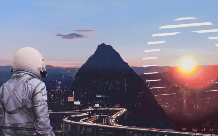 "SunSetsOnTheCity-1-698x435 Previews: Scott Listfield – ""ALGORITHM"" @ Spoke Art (SF) Random"