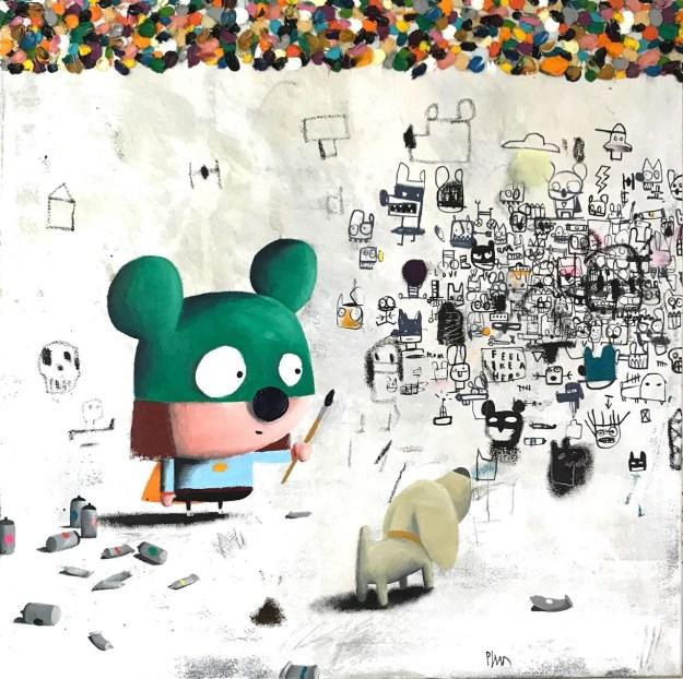"Edgar-Plans2 Previews: ""Universes"" @ Tales Of Art Gallery Random"