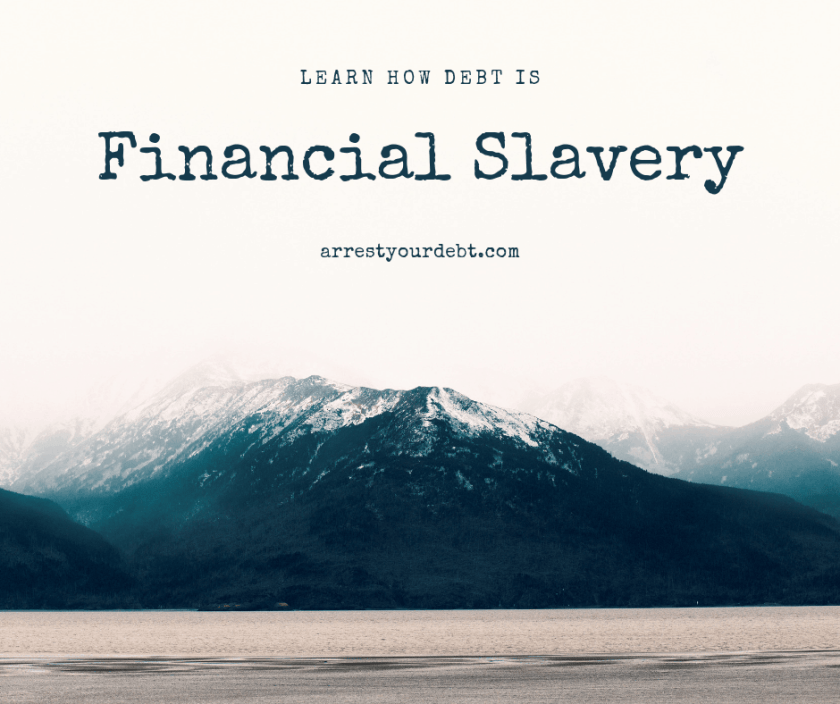 Debt is financial slavery - learn how to beat it!