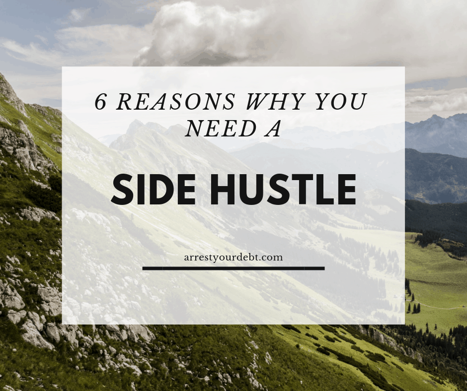 Check out the 6 top reasons you need a side hustle!