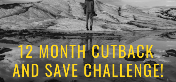 Up for a challenge? Check out this cut back and save money challenge!