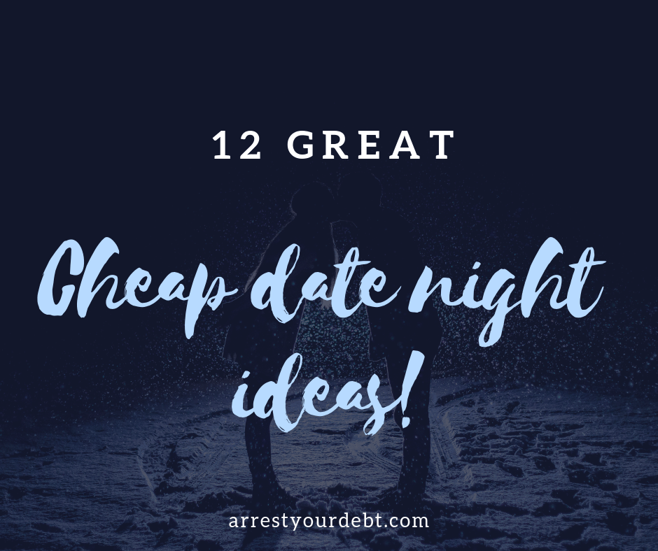 Check out these 12 great cheap date night ideas!