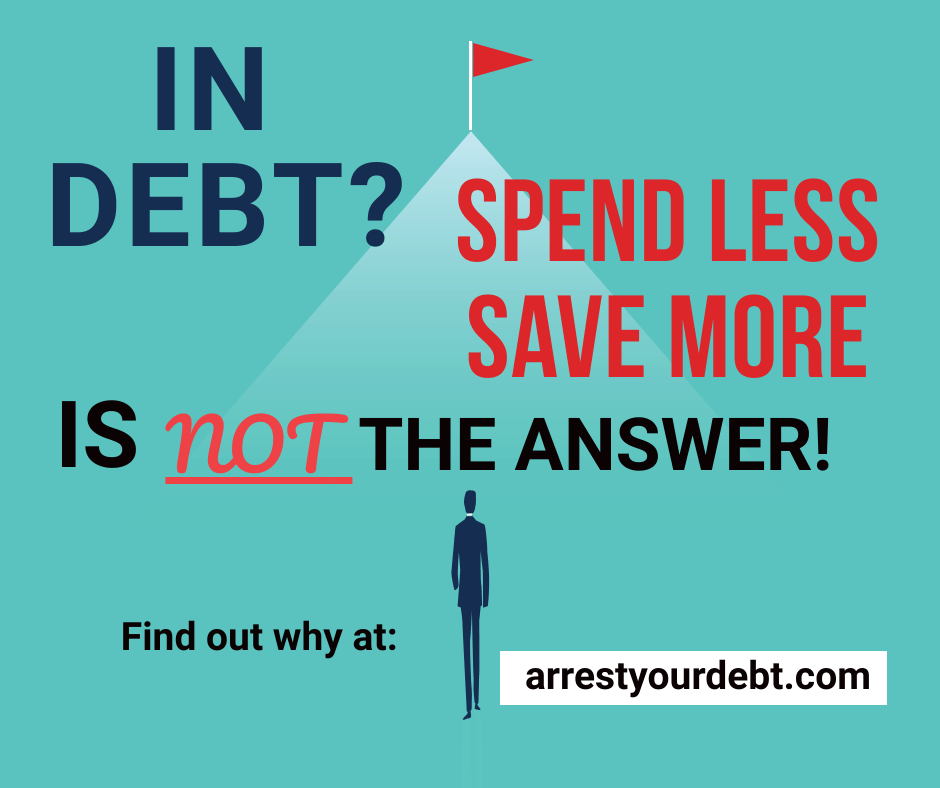 Spending less and saving more is not the answer for personal finance!