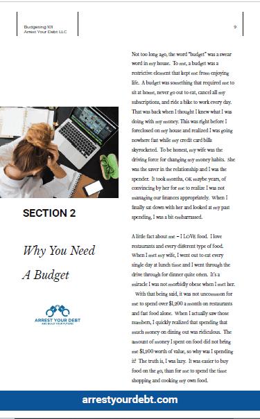 Arrest Your Debt eBook