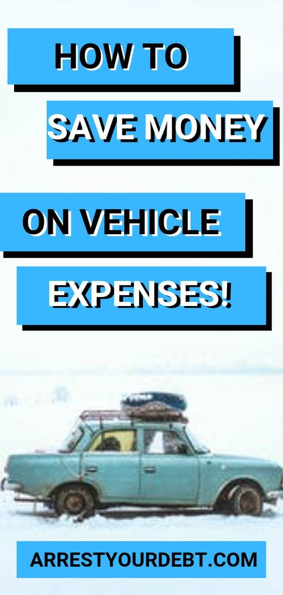 How to save money on vehicle expenses