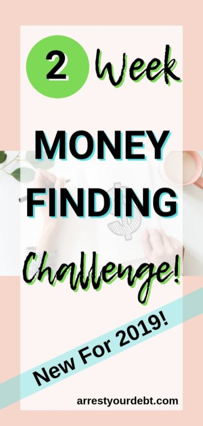 find money with this free 2 week challenge