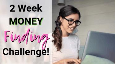 2 week money finding challenge