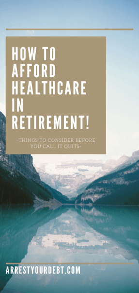 how to afford healthcare in retirement