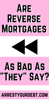 Are Reverse Mortgages