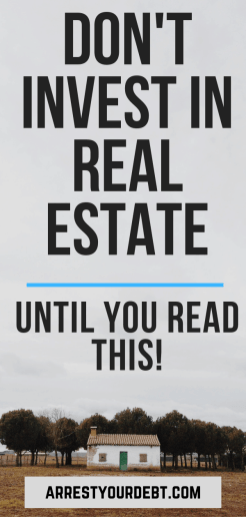 Copy of Don't invest in real estate