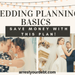 wedding planning basics, save money with this plan