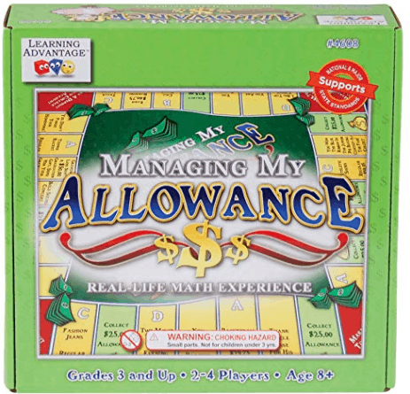 Managing My Allowance - Allowance Game for Kids - Teach Money, Making Change, Currency and Saving Skills