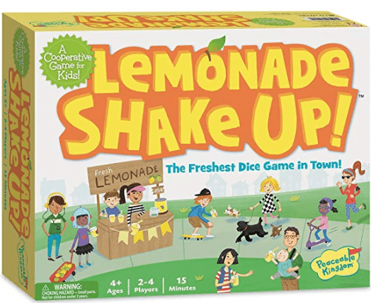Lemonade Shake Up! ages 4+