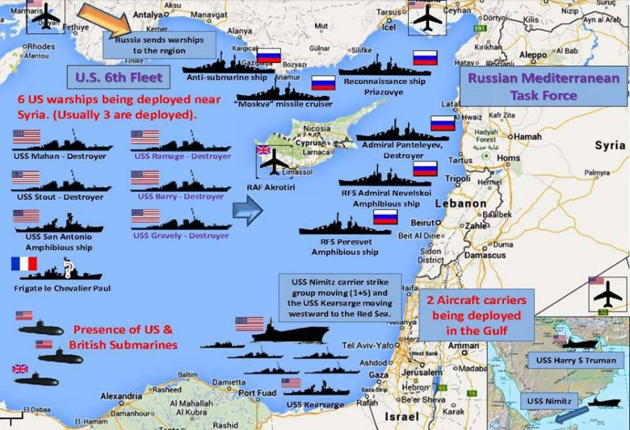 navires - Syrie