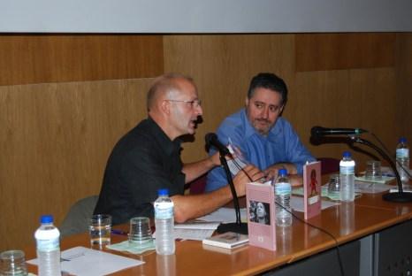 Xuan Santori y Humberto Gonzali