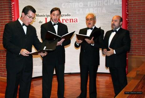 >ARRIBADA 2010 (23 de setiembre): Actuación del Cuarteto Antolín de la Fuente
