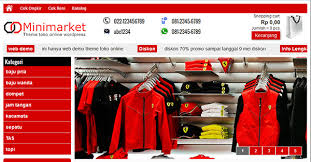 contoh toko online 3 - Arriba Design 17753f8009