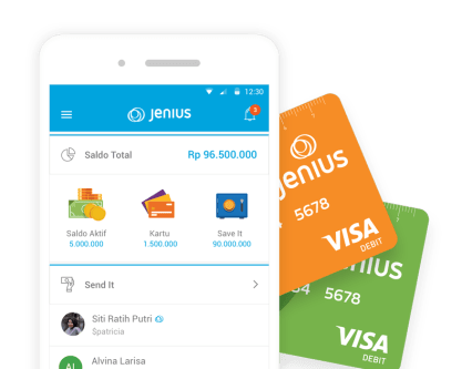 Aplikasi Keuangan Jenius