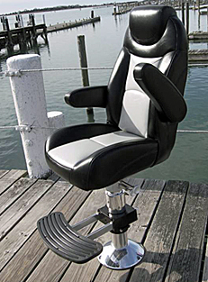 Helm Boat Seats  Captain Chairs For Boats For Sale