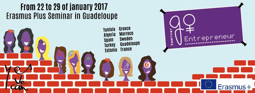 Visuel du projet Go Entrepreneur en Guadeloupe