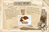 Taco Seasonings Recipe Card