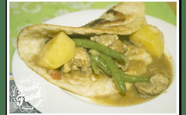 Roti Chicken Curry Massala