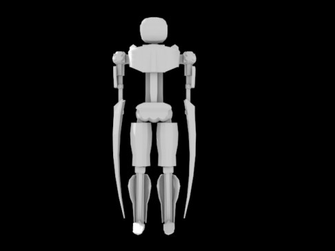 robot front