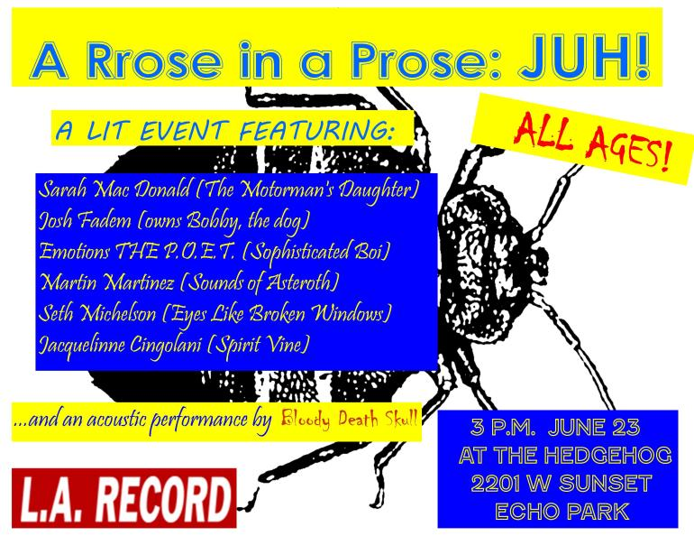 A Rrose in a Prose JUH hi res