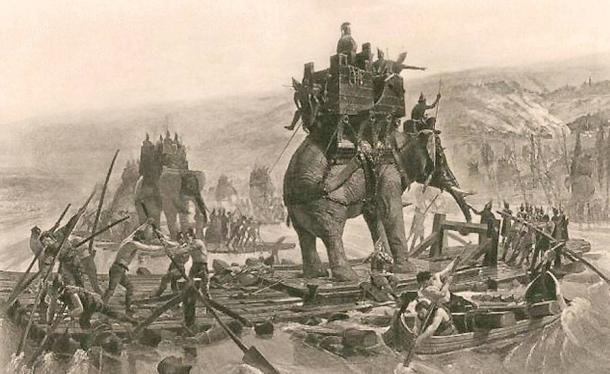 Hannibal-Army-Crossing-the-Rhone