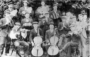 Carlingcott Orchestra b&w