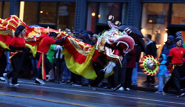 2011 SF Chinese New Years Parade Dragon