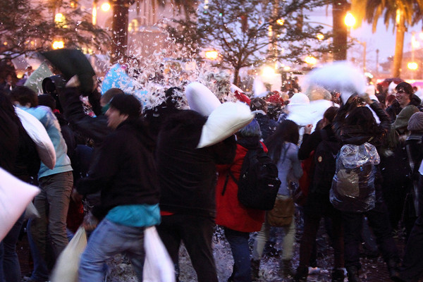 2011 Great SF Valentines Day Pillow Fight