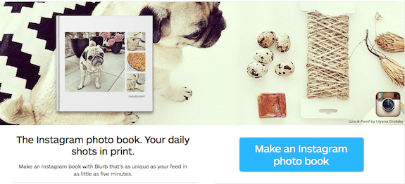 Instagram Photo Book from Blurb