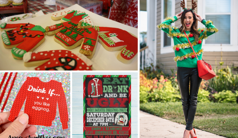 The Ultimate Guide to Planning An Ugly Sweater Christmas Party