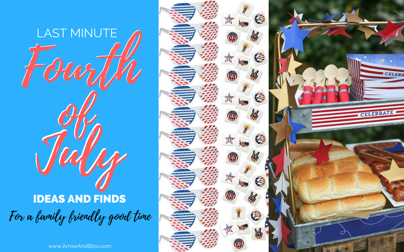 Last Minute 4th of July Ideas and Finds