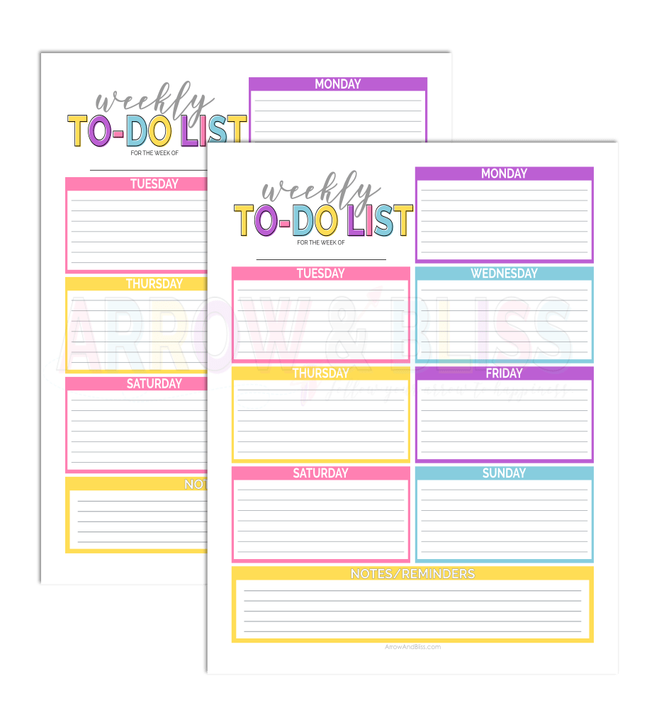 It is a picture of Priceless Printable to Do List Pdf