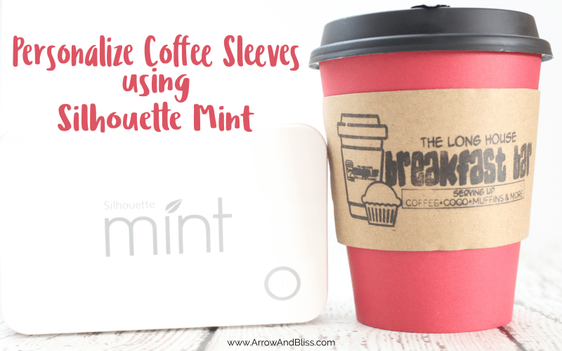 Personalize Coffee Sleeves for Your Home Coffee Bar