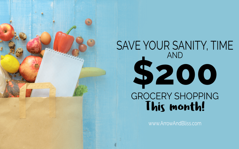 Find out howro save your sanity, time and money grocery shopping.