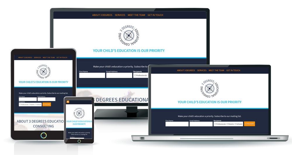 good-fortune-web-design-3-degrees-education-website-responsive