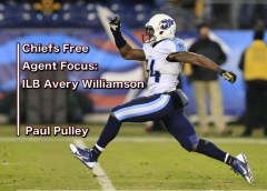 Chiefs Free Agent Focus: ILB Avery Williamson – Paul Pulley