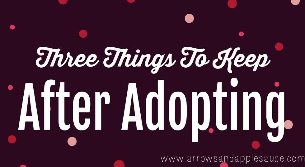 Three things you may not have thought to keep after going through the adoption process. I'm so glad I have these keepsakes for our daughter.