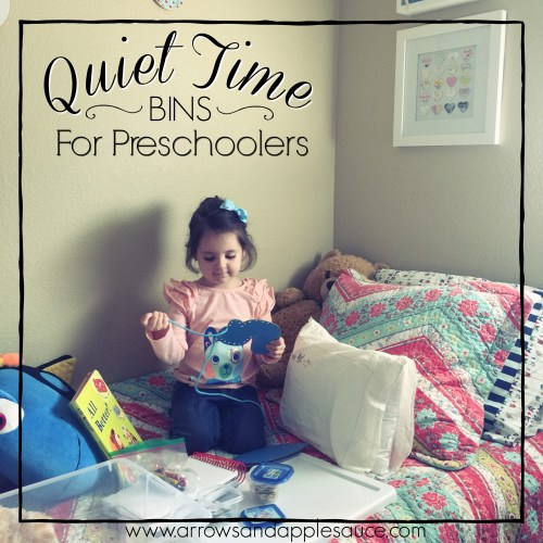 Naps are no more, but the kiddos (and mama) need a little rest. Enter quiet time bins! Full of fun, educational, and quiet activities for preschoolers.