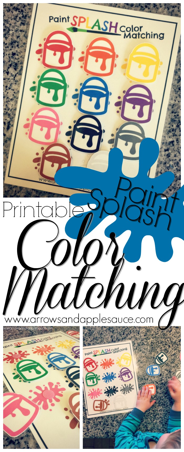 Learning Our Colors | FREE Color Hunt Printable - Arrows & Applesauce