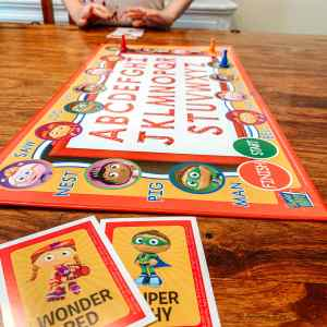 Game Schooling With Preschoolers | Alphabet - Arrows