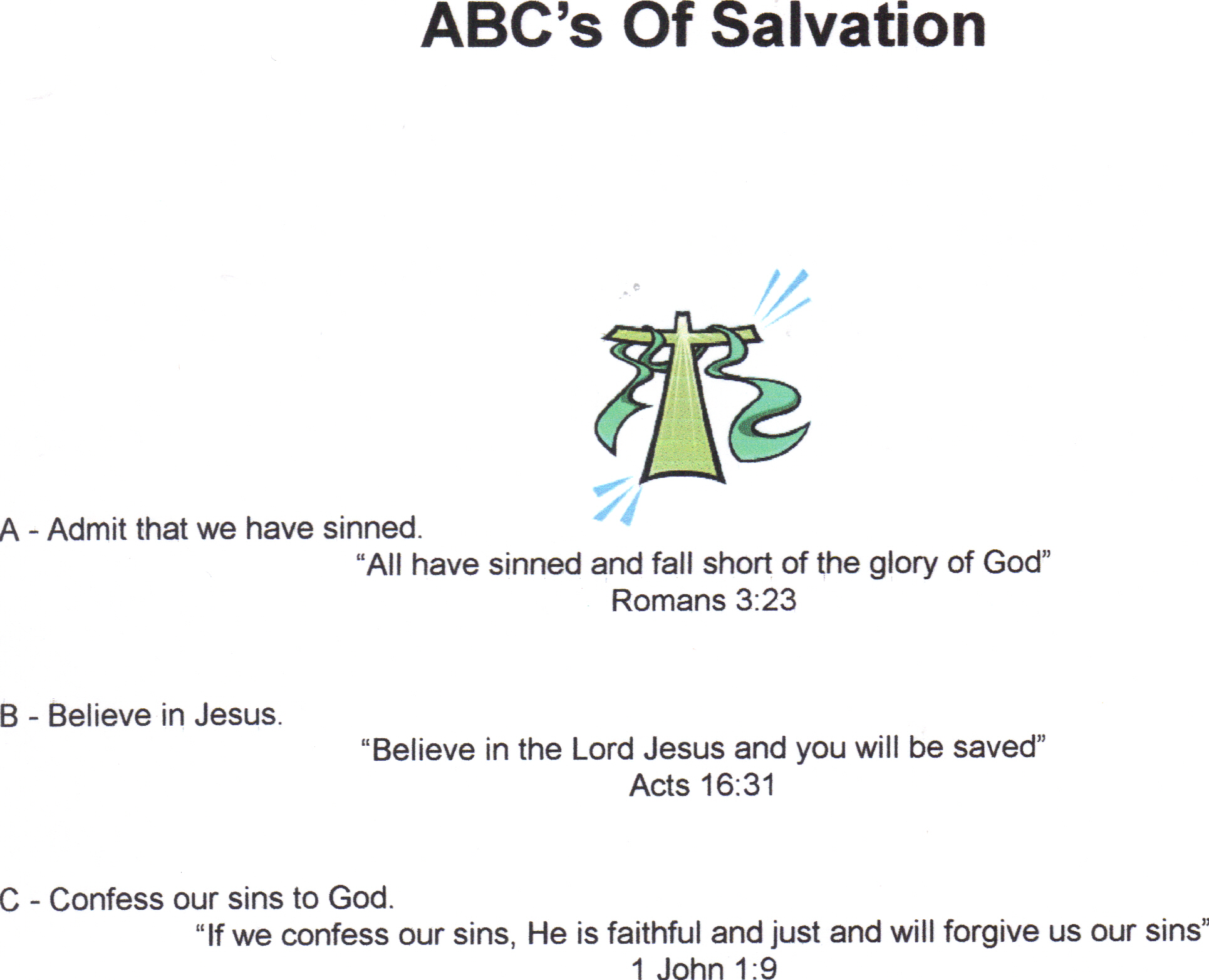 Roman Road To Salvation Printable That Are Adorable