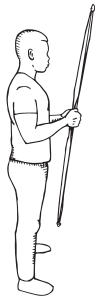 how to shoot a recurve bow - square stance