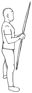 how to shoot a recurve bow - open stance