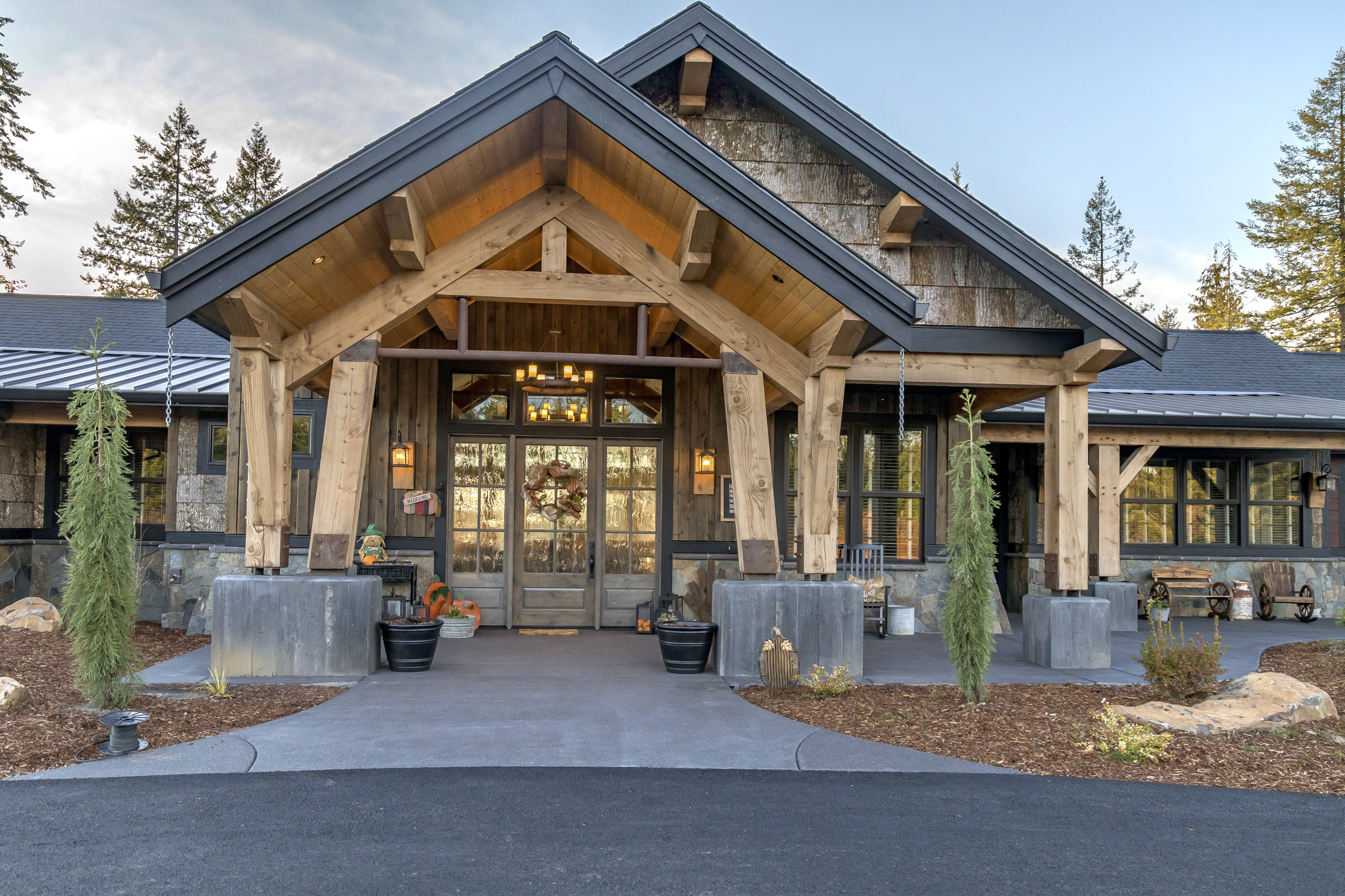 Craftsman Style Timber Frame Homes