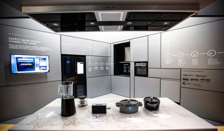 Bosch Pitched a Smart Kitchen Utopia at IFA 2018