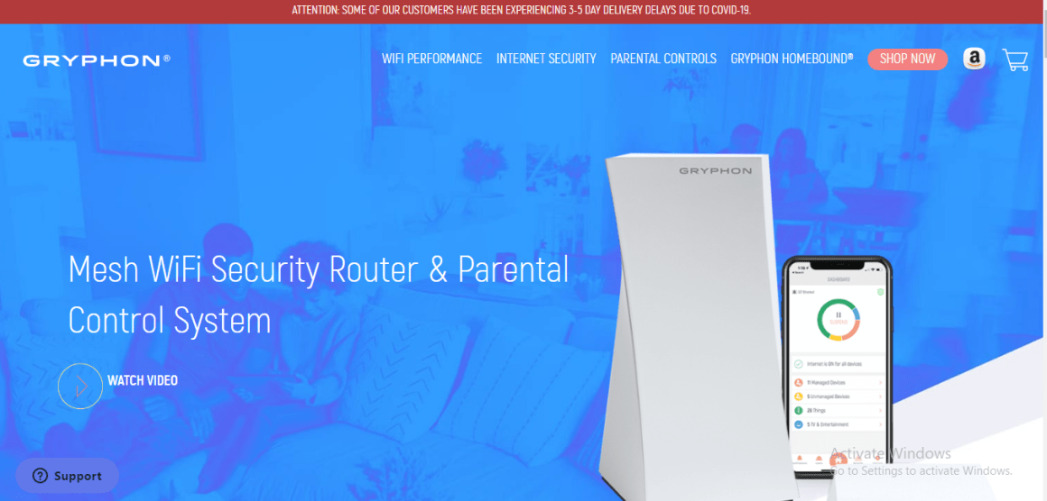 Mesh wifi security router